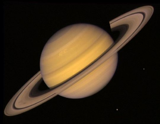 Did you know Saturn isn't spherical, but actually ovoid?  No?  Hm.  I'll send you a postcard from space.