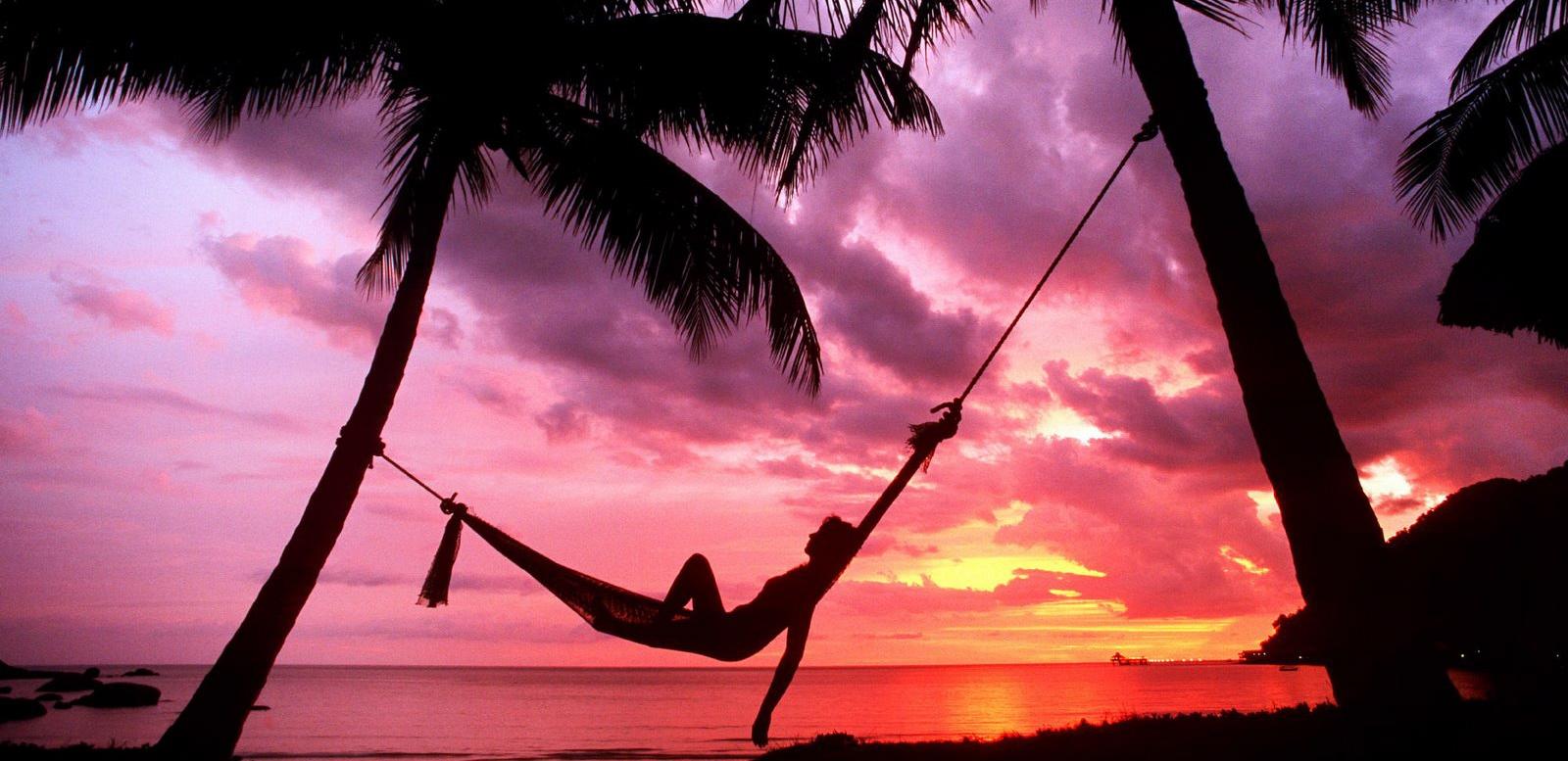 Woman Tropical Beach Spa