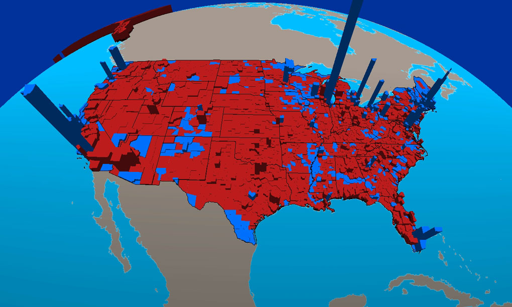 Historical US Presidential Elections Presidential - Map of us election results