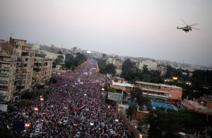 Like those rallies in Egypt?  Now those were big rallies, right?  Let's keep some perspective.
