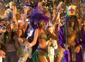 Pictured here: recent merger of United Federal Trust - oh, no, wait; that's Mardi Gras!  Common  mix-up.