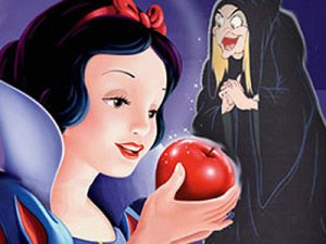 #8 - people don't usually cackle and rub their hands together as you eat if the apple ISN'T poisoned.